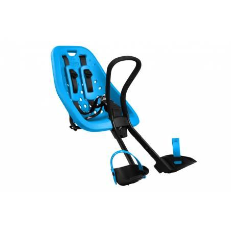 Souple et robuste, ce siège vélo offre à votre enfant des balades confortables et sécurisées à l'avant de votre vélo.