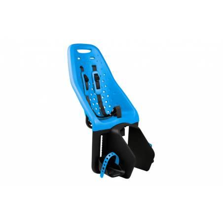 Ce siège pour enfant s'installe facilement sur le porte-bagages de votre vélo. Compatible avec les porte-bagages arrière équipés du support EasyFit ou du Thule Yepp Maxi EasyFit Adapter (vendu séparément)