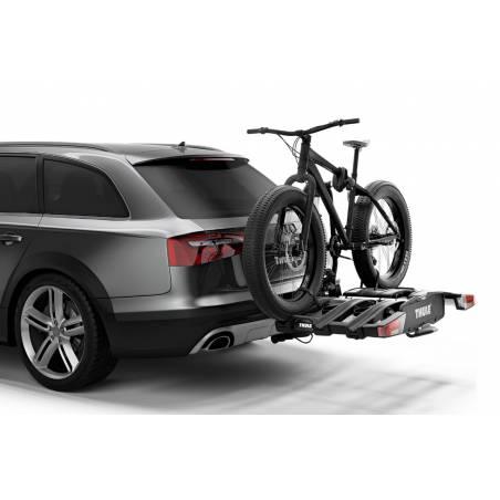 Permet le transport de VTT et vélos électriques