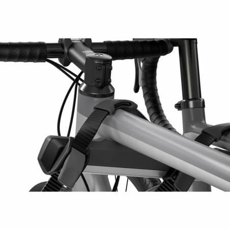 Porte-vélos sur hayon Thule OutWay Hanging 2 vélos, détail fixation vélo – YGGOR