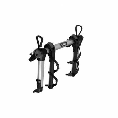 Porte-velos sur hayon Thule OutWay Hanging 2 vélos, vue de côté plié – YGGOR