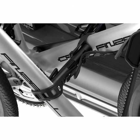 Porte-vélos sur hayon Thule OutWay Hanging 3, détail de fixation vélo – YGGOR