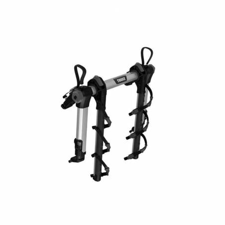 Porte-vélos sur hayon Thule OutWay Hanging 3 plié, vue de profil – YGGOR