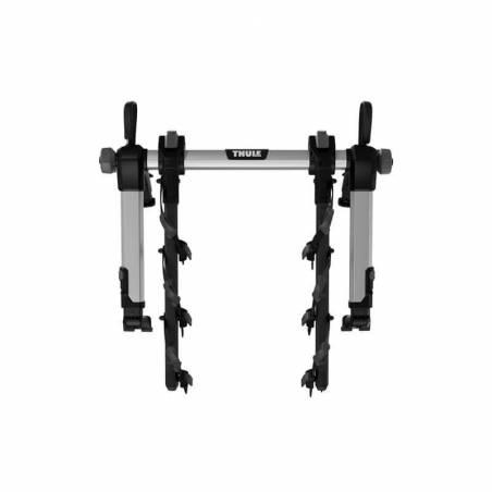 Porte-vélos sur hayon Thule OutWay Hanging 3 plié, vue de face – YGGOR