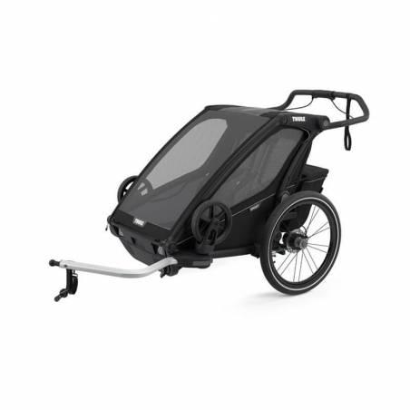 Remorque vélo Sport 2 Thule modèle 2021, couleur Midnight Black – YGGOR