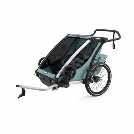 Remorque vélo Cross 2 Thule modèle 2021, couleur Alaska – YGGOR