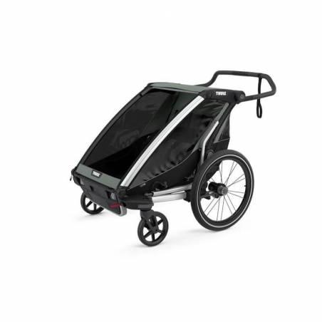 Remorque vélo Thule Lite 2 en mode poussette - YGGOR