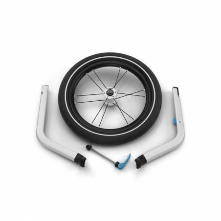 Le pack du cycliste - jogger : Remorque Chariot Sport 1 modèle 2021 + kit jogging.