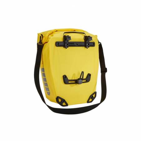 Sacoche vélo Thule, 25L, jaune avec bandoullière amovible - YGGOR