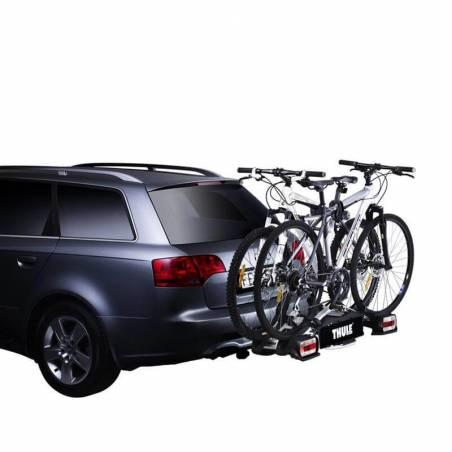 2 vélos montés sur le porte-vléos Thule EuroWay G2 921 - YGGOR
