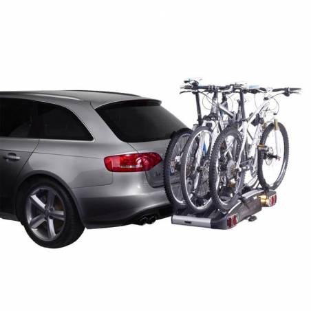 3 vélos montés sur le Porte-vélos Thule EuroClassic G6 929 - YGGOR