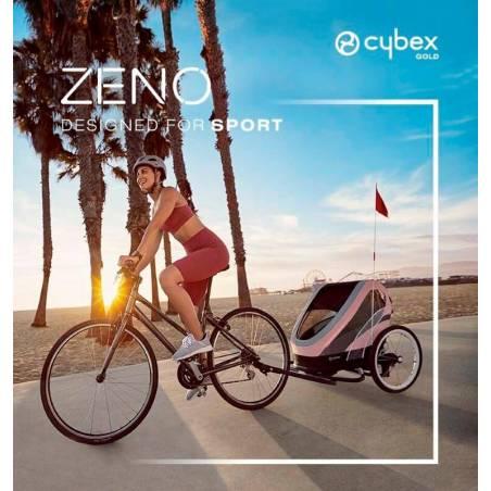 Remorque vélo ZENO CYBEX version rose - YGGOR