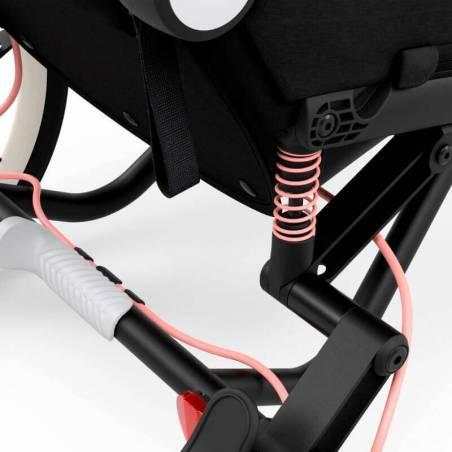 Suspensions arrières de la poussette sport Zeno de Cybex, modèle Rose - YGGOR