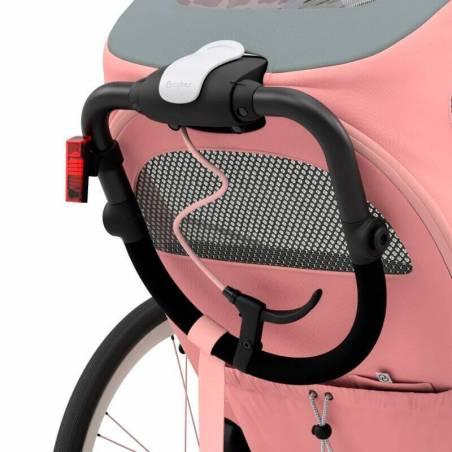 Guidon rétractable de la poussette sport Zeno de Cybex, modèle Rose - YGGOR