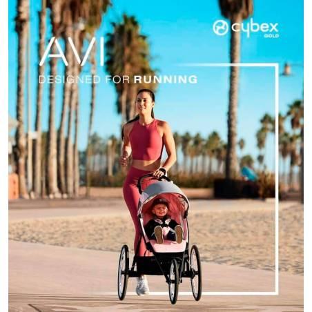 Running avec la poussette AVI modèle Rose CYBEX - YGGOR