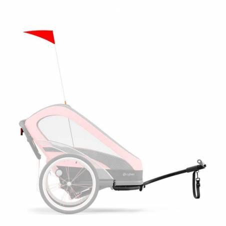 Drapeau et attache vélo pour transformer votre poussette ZENO CYBEX en remorque vélo - YGGOR