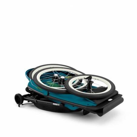 Pliage compact de la poussette running AVI bleue CYBEX - YGGOR