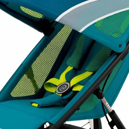 Assise confortable de la poussette running AVI bleue CYBEX - YGGOR