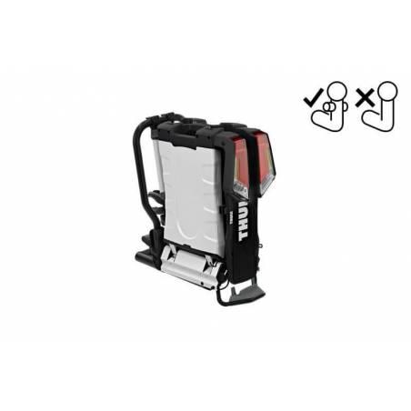 Pliage compact du porte-vélos EasyFold XT F 2 Thule pour boule d'attelage Fix4bike - YGGOR