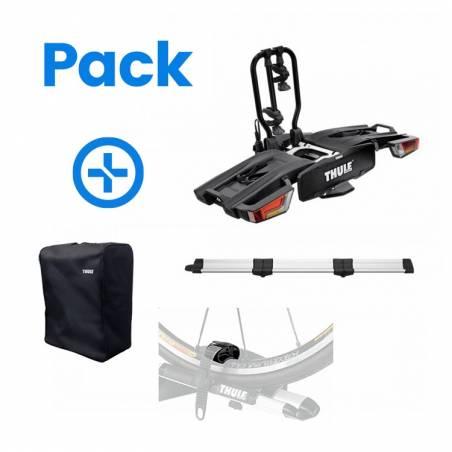 Porte-vélo EasyFold 933 XT2 Black Thule + Rampe de chargement + Housse de rangement + protection sangle - YGGOR