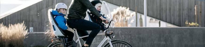 Sièges Vélos Enfant THULE - Siège Avant et Arrière, Haute Qualité !