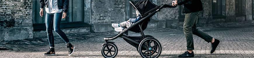 Poussette & Accessoires bébé THULE - Adaptateur Cosy, Protection pluie