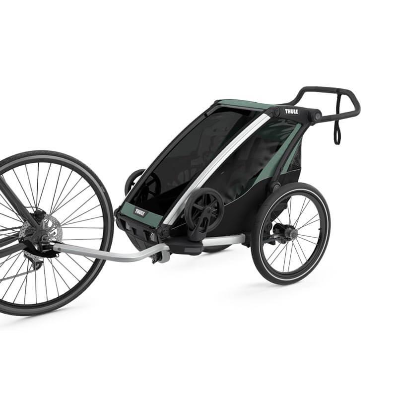 Nouveau modèle remorque vélo Thule Lite 1 proposée par YGGOR.FR